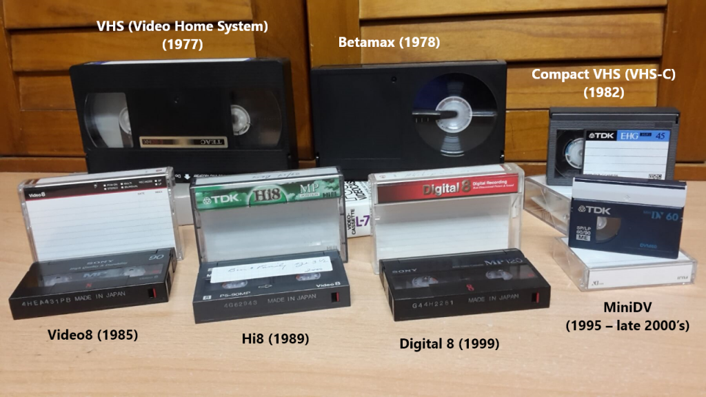 VHS Video Home System 1977